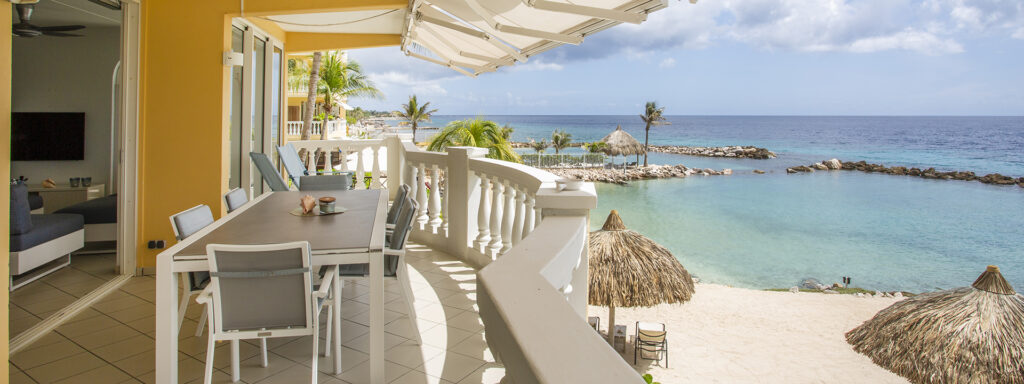 oceanfront apartment curacao