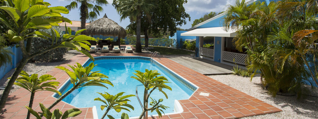 vacation curacao villa for rent