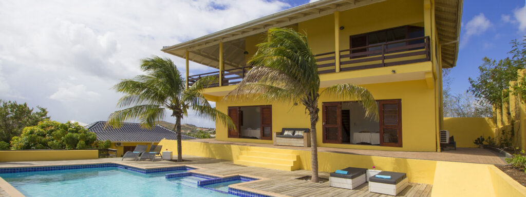 Villa with private pool on Curacao