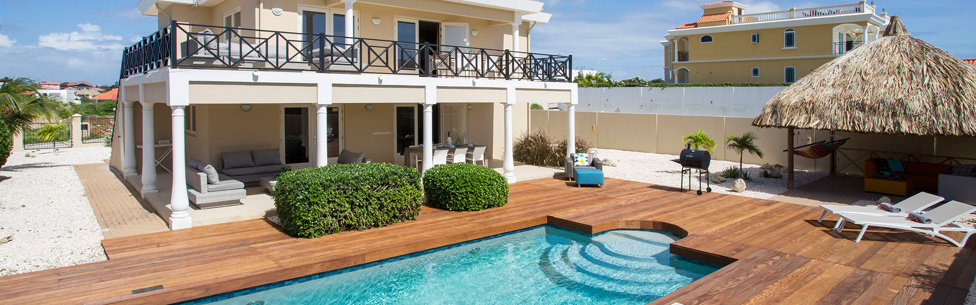 holiday homes on Curacao with private pool